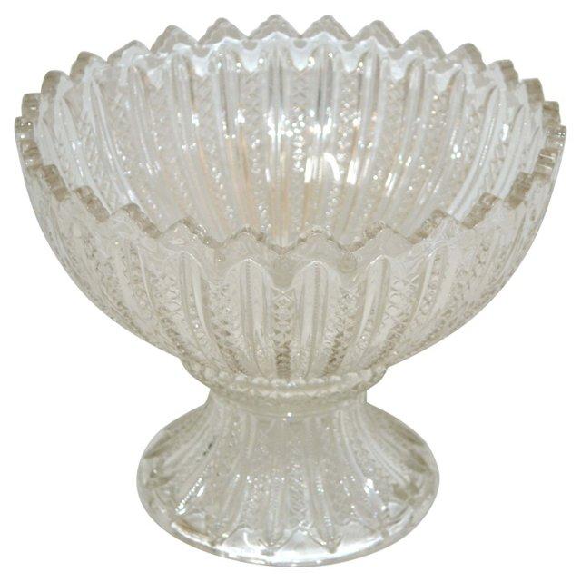 Cut-Glass Punch Bowl