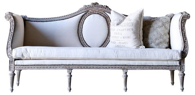 Louis XVI-Style Settee