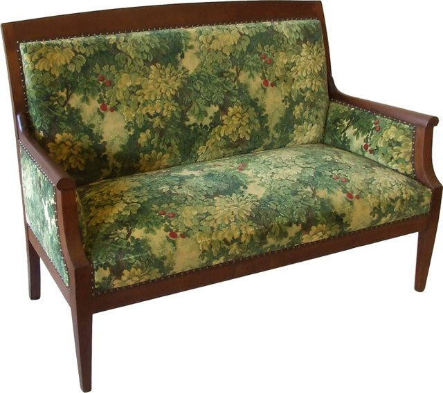 Antique French Walnut Settee