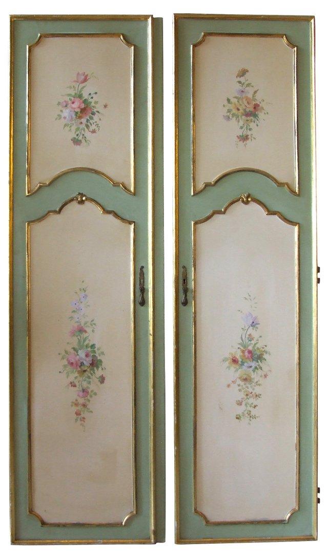 Italian Door Panels,  Pair