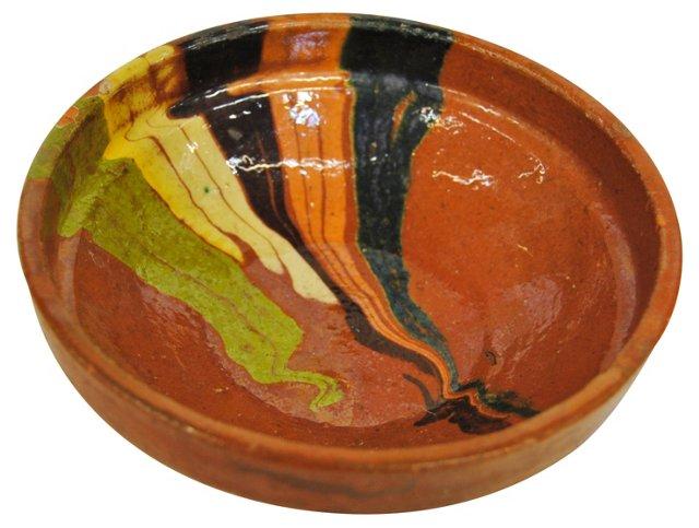 European      Redware   Bowl