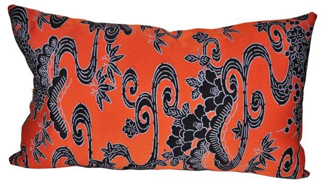 Japanese Silk Kimono Pillow