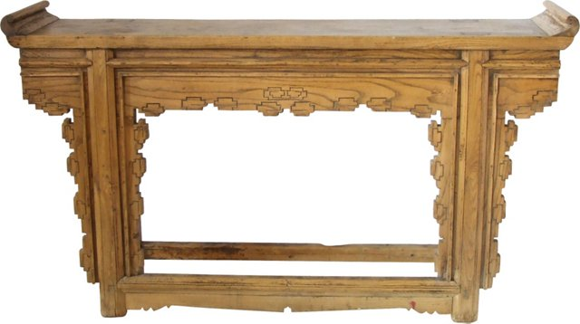 Antique 19th-C. Chinese Altar Table