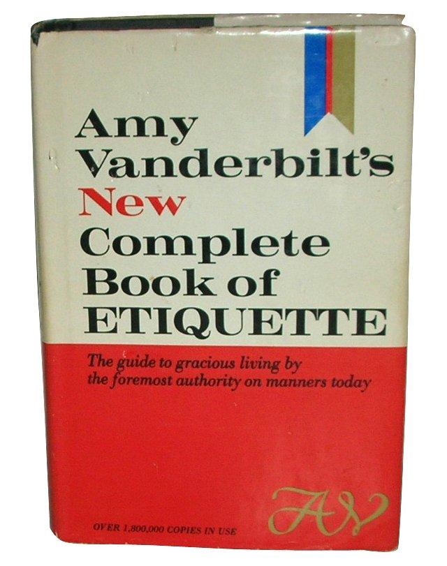 Amy Vanderbilt's Book of Etiquette