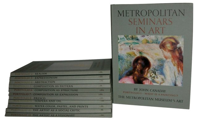 Metropolitan Seminars in Art, 12  Vols