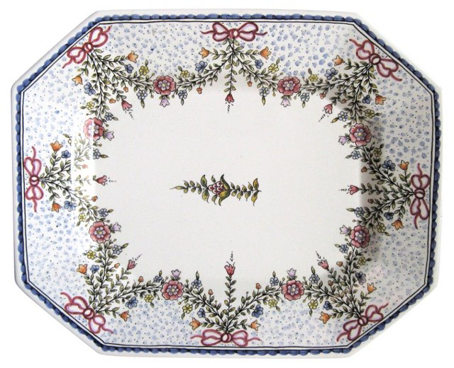 Portuguese Hand-Painted Platter