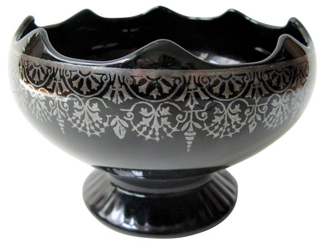 Sterling-Embossed Center Bowl