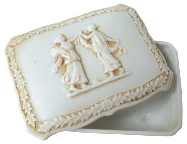 Parian Trinket Box