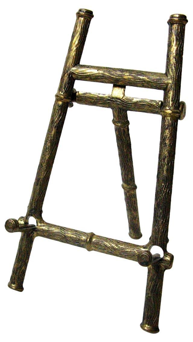 Italian Brass Table Easel