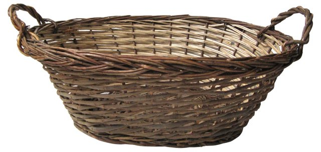 Southwest Split Willow Basket
