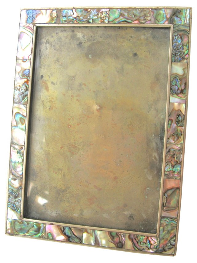 Abalone Inlay Alpaca Picture Frame