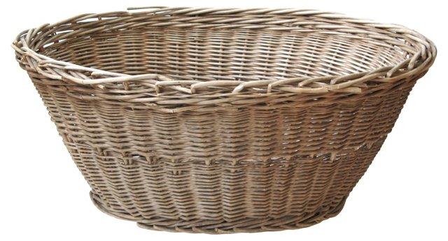 Weathered French-Style Basket