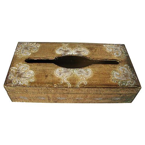 Italian Gilt Tissue Box