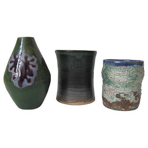 Artist Pottery Collection, S/3