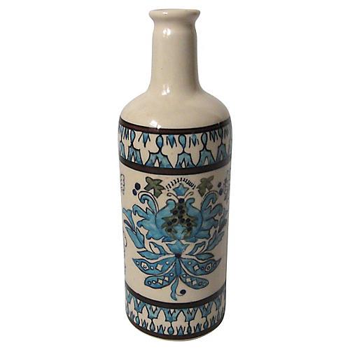 Persian Faience Bottle