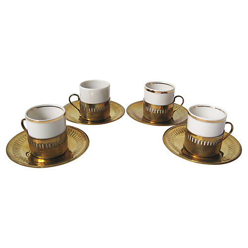 Brazilian Espresso Set, 8 Pcs