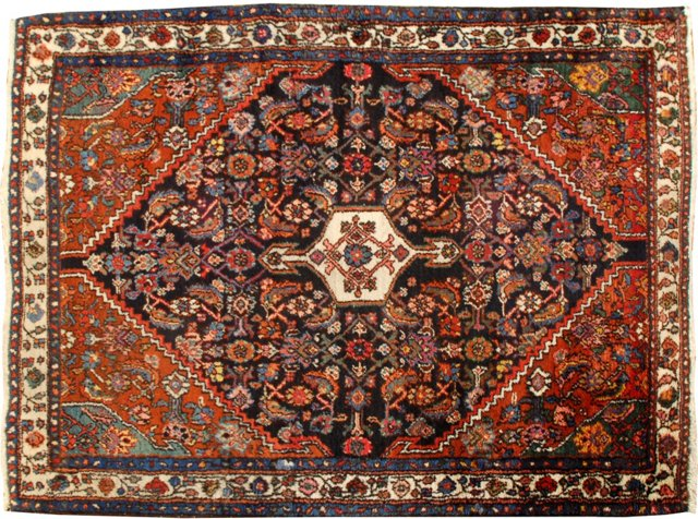 "Antique Bibikabad, 3'10"" x 5'"