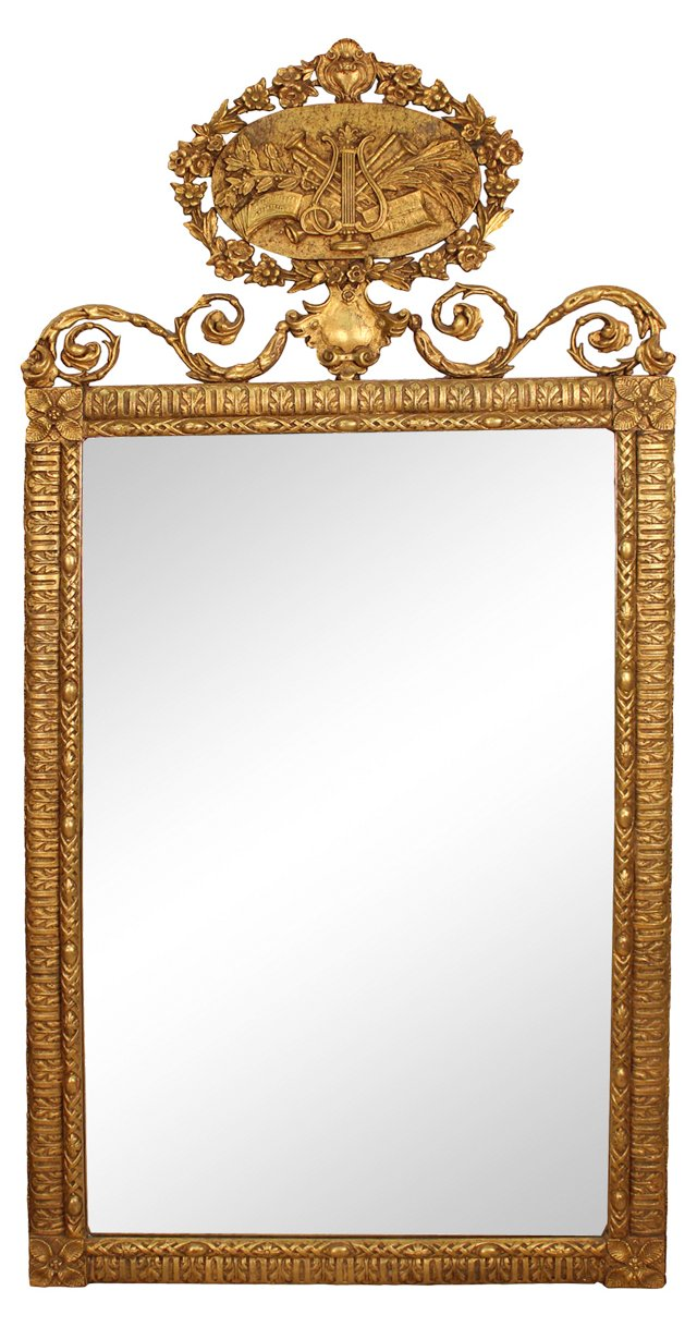 Victorian Mirror, C. 1880