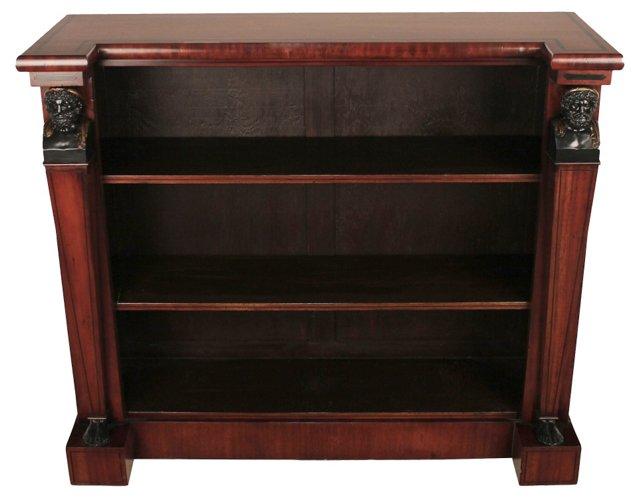 Regency-Style Open Bookcase