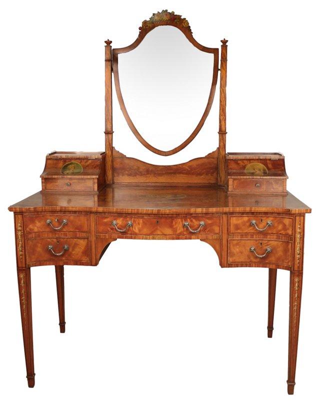 English Edwardian Dressing Table