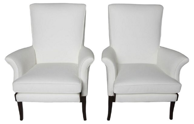 Lounge Chairs by Knoll-Parker, Pair