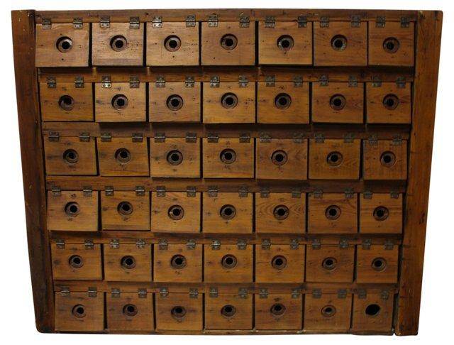 Antique  American Cabinet