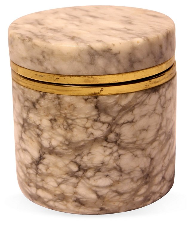Italian Alabaster  Box