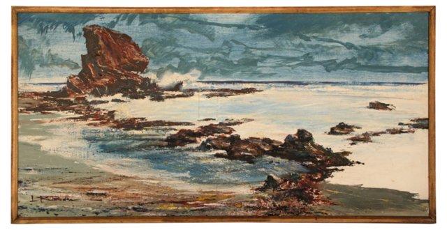 Dramatic Sea Rocks