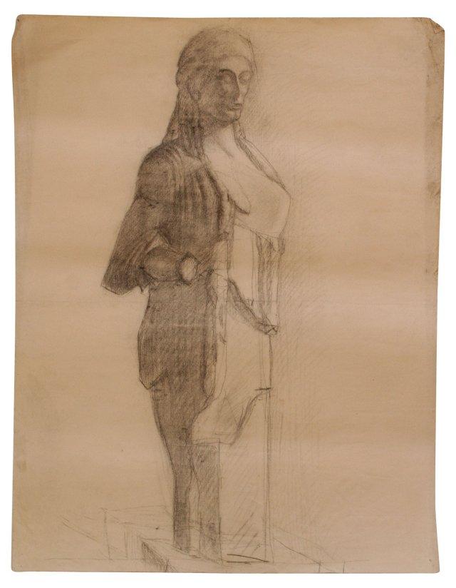 Statue in Pencil