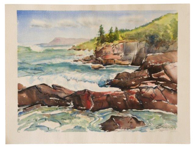 Seascape by C. Finance