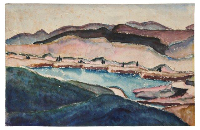 Desert Hills, 1936