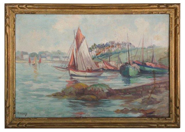 French Sailboat