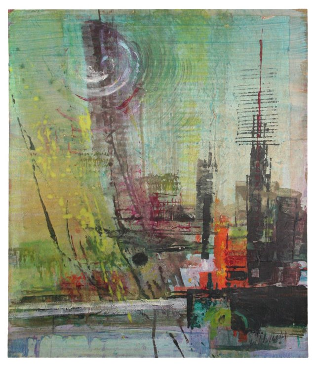 Industrial Abstract, C. 1960