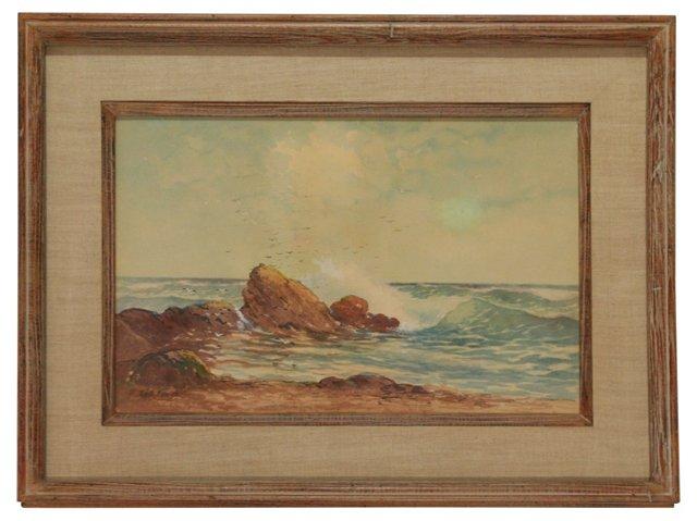 Seascape by R. Hills Bemish