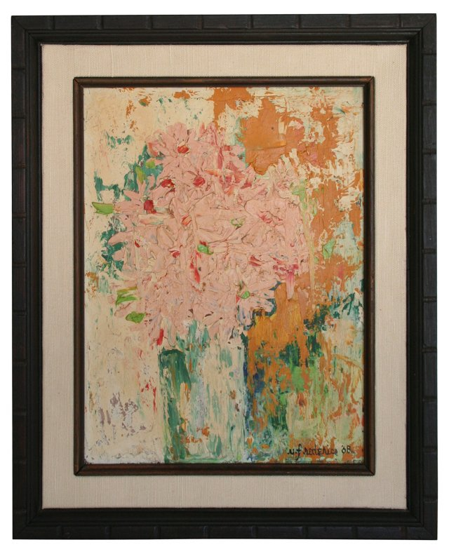 Floral Abstract, 1968