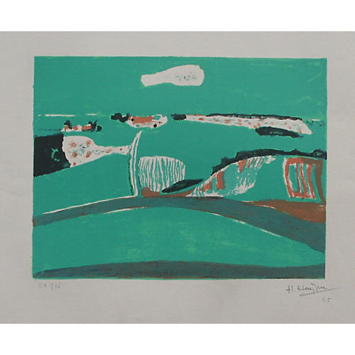 Abstract Landscape by Henri Hayden