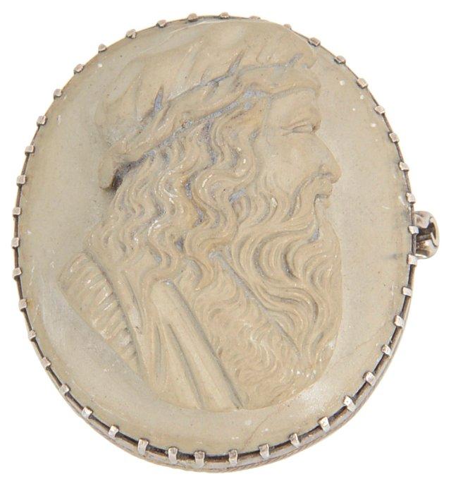 Victorian Leonardo da Vinci Cameo