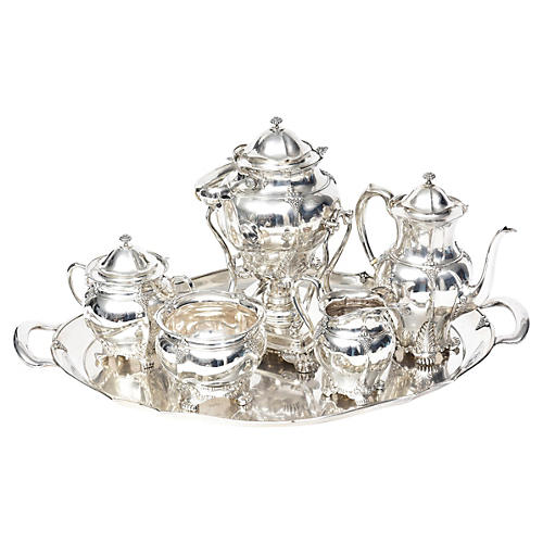 Victorian Tiffany Sterling Tea Set