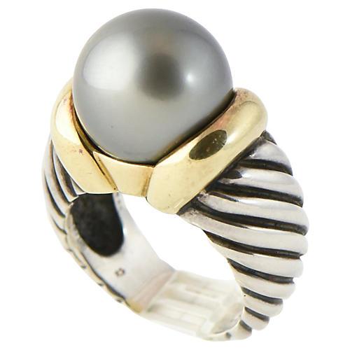 Yurman Tahitian Pearl Cocktail Ring