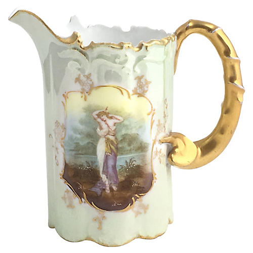 19th-C. Rosenthal Monbijou Woman Creamer