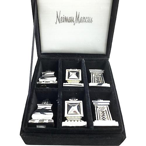Neiman's Chess Like Salt & Pepper 6 pcs