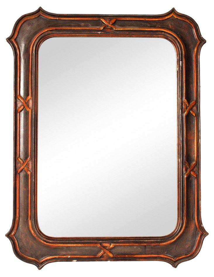 Italian Wood Mirror