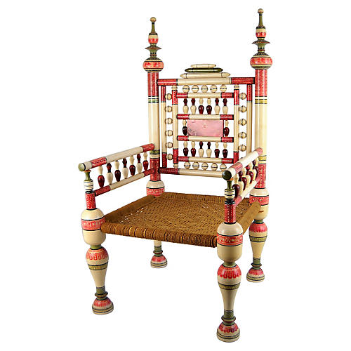 Old Punjabi Indian Wedding Chair