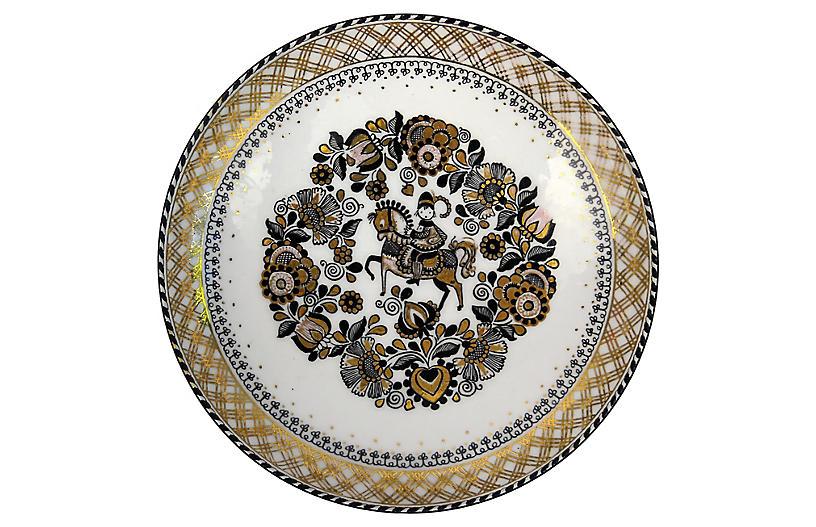 Steinbock Austria Porcelain Wall Plate