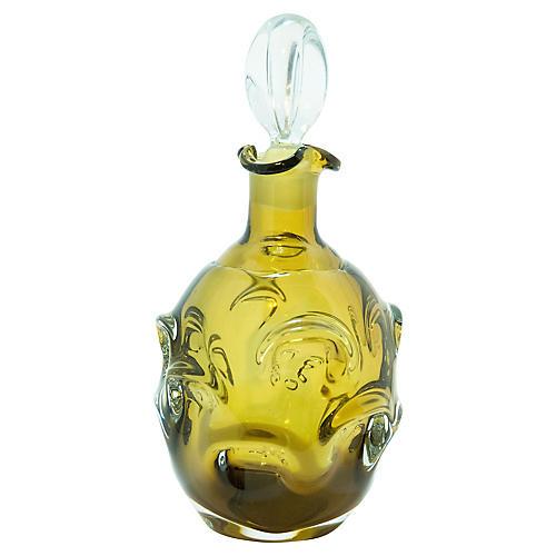 Midcentury Glass Decanter