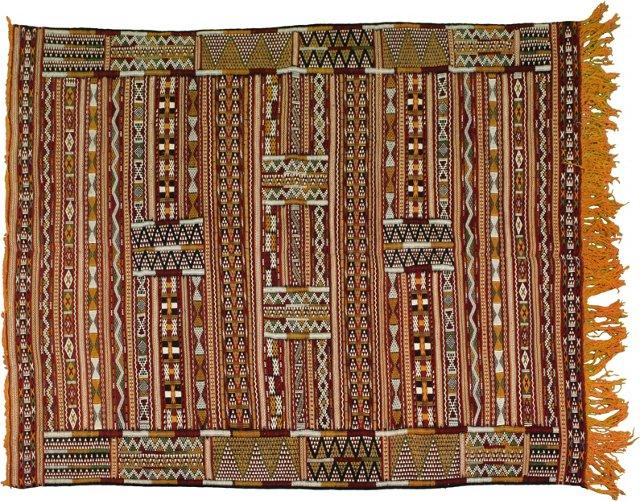 """Moroccan Berber Rug, 6'5"""" x 4'8"""""""