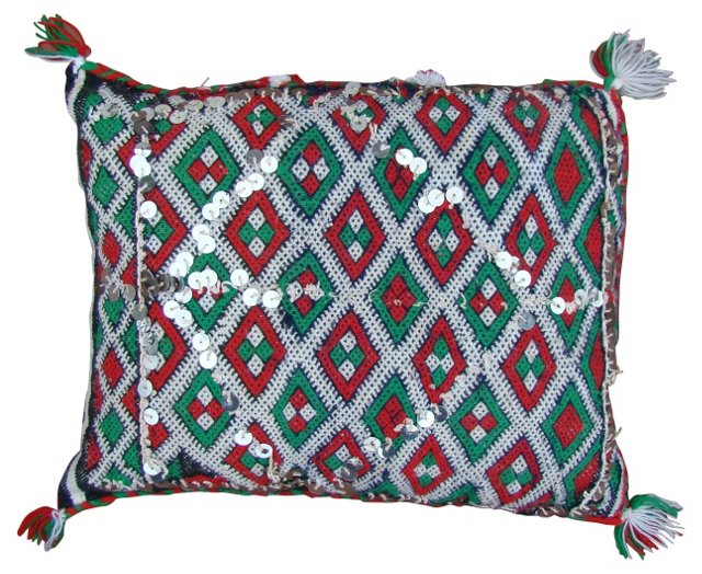 Moroccan Berber Sham w/ Ornate Diamonds