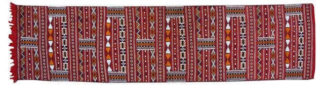 """Moroccan Berber Runner, 10' x 2'7"""""""