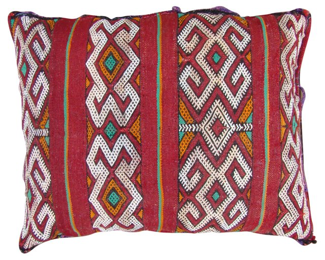 Moroccan Berber Red   Sham