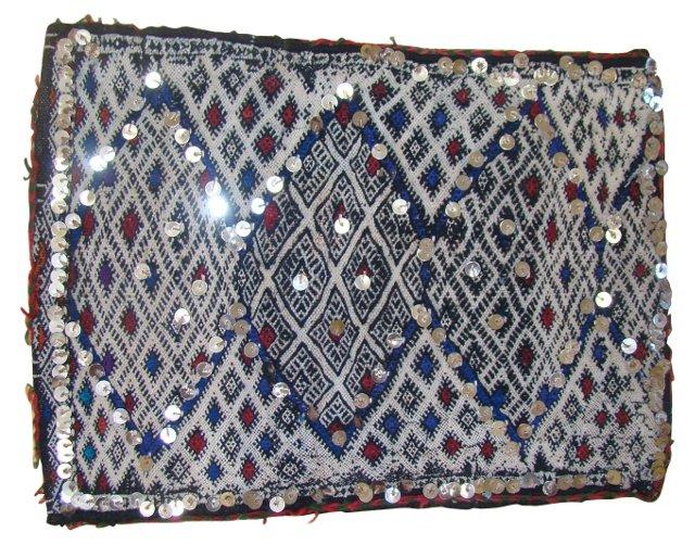 Moroccan Sham w/ Sequins